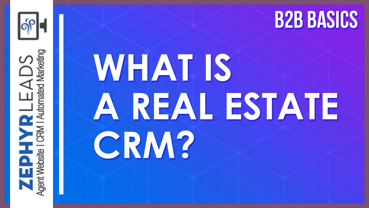 what is real estate crm
